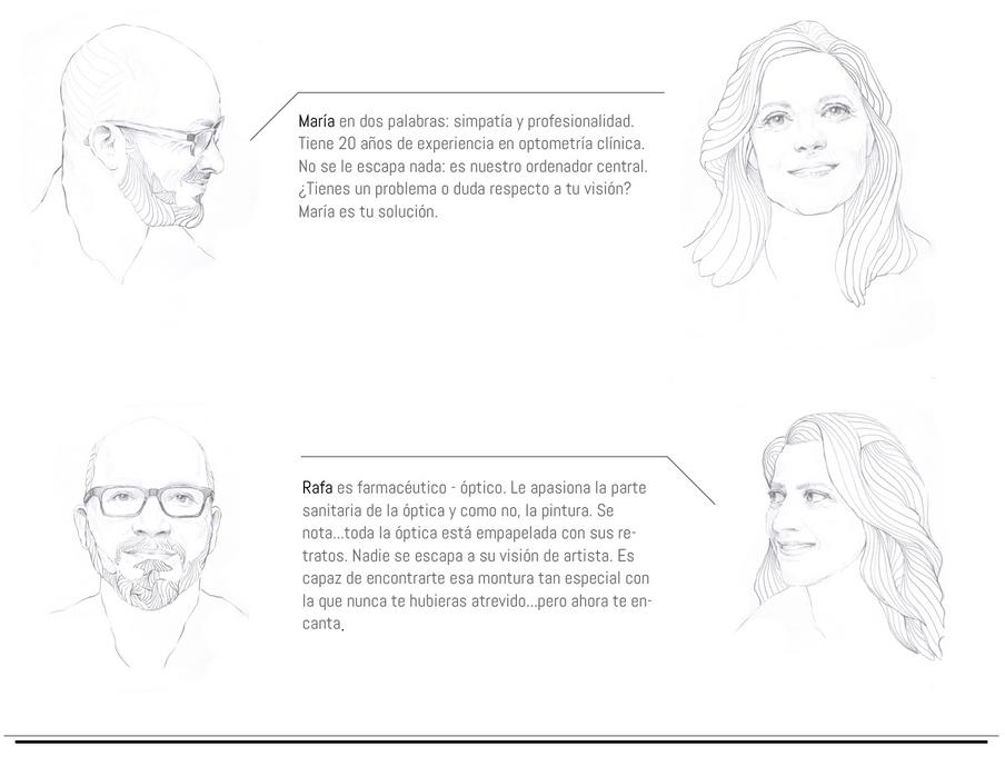 El equipo de Óptica Visual Málaga