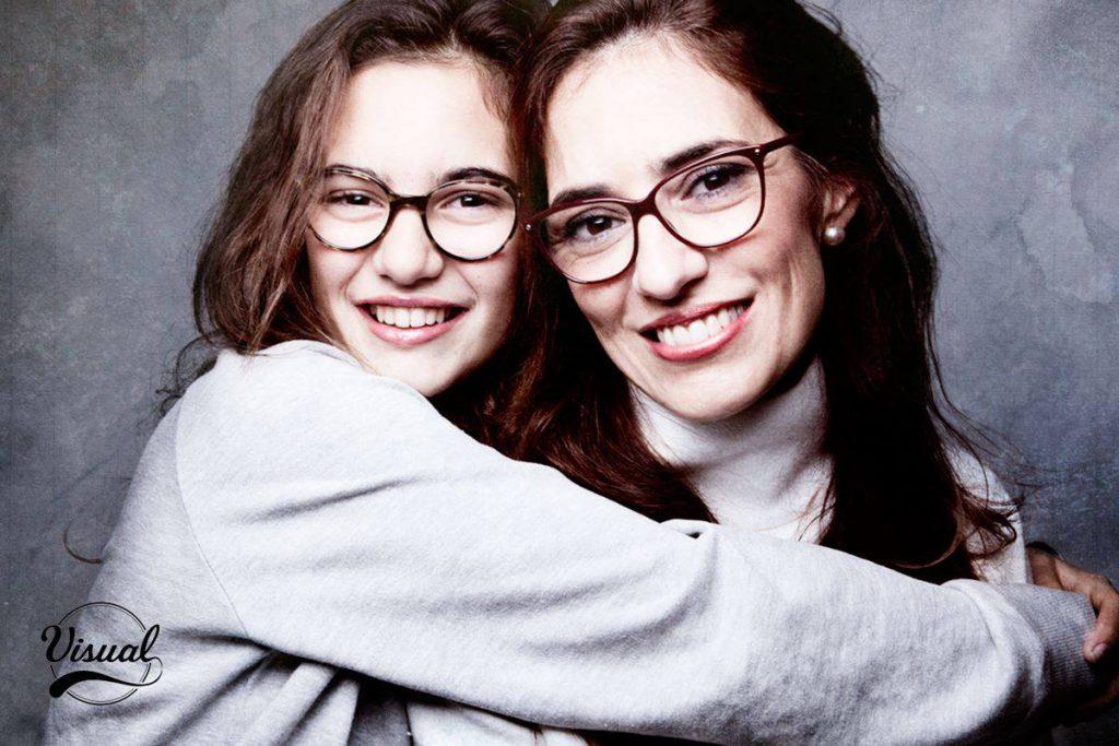 Lourdes e hija